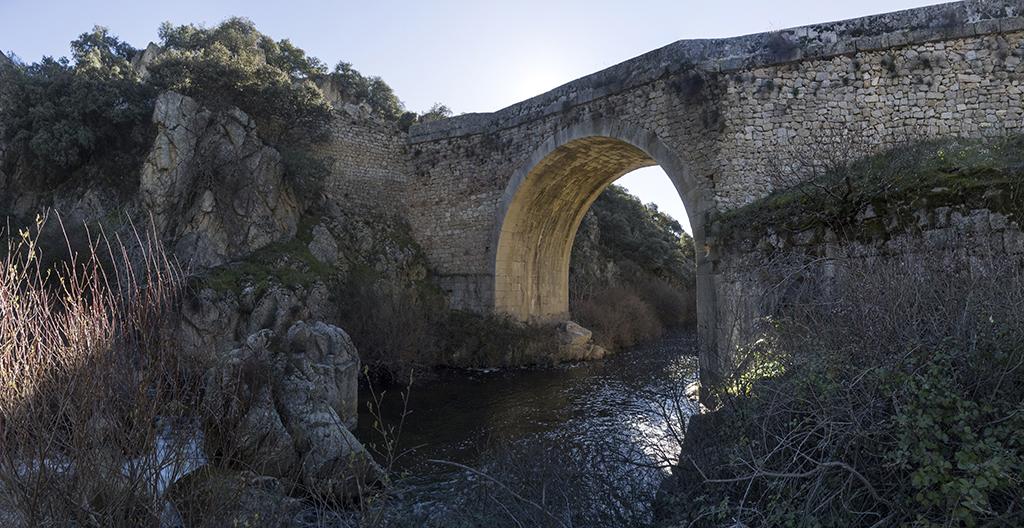 Panoramica del Puente de la Marmota